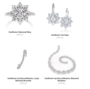 Harry Winston Sunflower Collection