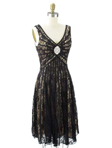 bluevelvetvintage gatsby dress.