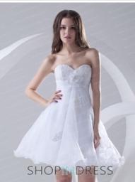 white prom