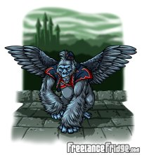 wizard_of_oz_flying_gorilla_by_jameskoenig1-d5xnmy9
