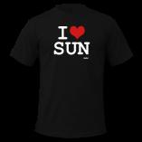 Black-i-love-sun-by-wam-T-Shirts